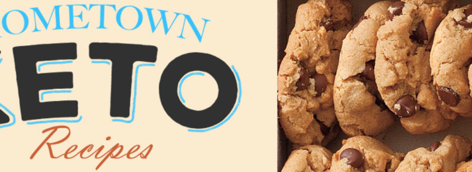 Hometown Keto - Flourless Chocolate Chip Peanut Butter Cookies Recipe